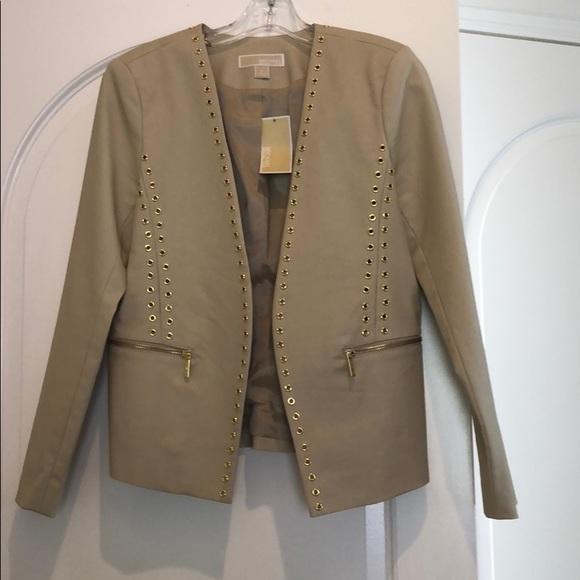 Michael Kors Jackets & Blazers - New NWT Michael Kors Cream suit jacket